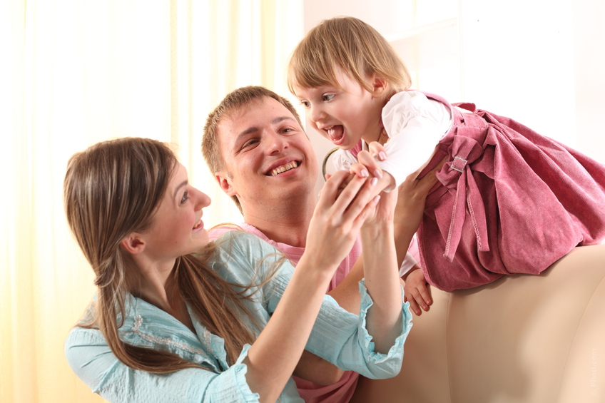Når familien kommer på besøg