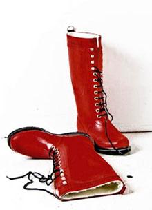 Moderigtige gummistøvler